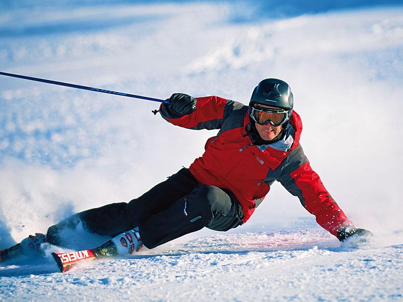 Skigebiet samnaun ischgl
